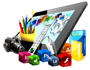 graphic designing service logo